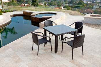 Outdoor Furniture Sets And Quick Ship Items - Outdoor  Dining Sets - Luna Dining Set For Four
