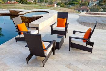 Outdoor Furniture Sets And Quick Ship Items - Outdoor Sofa & Seating Sets - Babmar - Martano Outdoor Chair Set