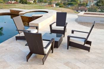 Babmar - Martano Outdoor Chair Set - Image 3