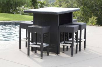 Vertigo Bar Set With Pandora Stools