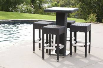 Outdoor Furniture Sets - Outdoor Bar Sets - Crow Bar Set For Four
