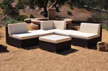 "Babmar - Swing 46 ""V"" Shaped Sofa Set - Image 4"