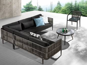 Outdoor Furniture Sets - Outdoor Sofa & Seating Sets - Kitaibela Sectional Set for 6