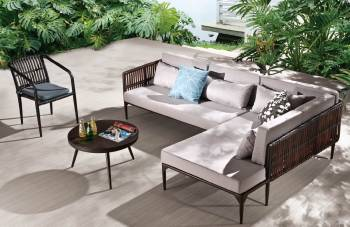 Outdoor Sofa & Seating Sets - Outdoor Seating Sets For 5 - Kitaibela Sofa Lounge Set