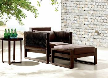 Shop By Collection - Wisteria Collection - Wisteria Club Chair With Ottoman and Side Table