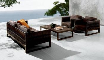 Outdoor Sofa & Seating Sets - Outdoor Seating Sets For 5 - Wisteria Sofa Set
