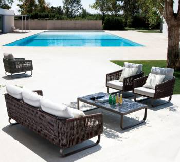 Outdoor Sofa & Seating Sets - Outdoor Seating Sets For 5 - Haiti Sofa Set