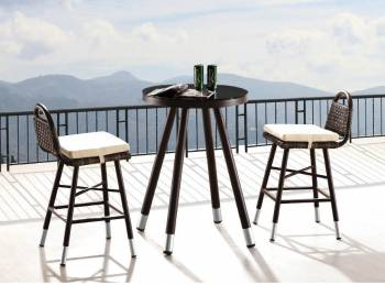 Outdoor Furniture Sets - Outdoor Bar Sets - Fatsia Bar Set For Two