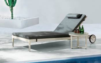 Outdoor Furniture Sets - Outdoor Chaise Lounges - Taco Chaise Lounge