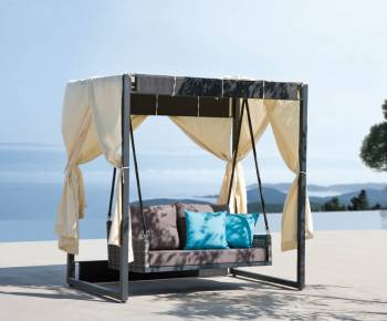 Outdoor Furniture Sets - Outdoor Daybeds - Brisas Swing