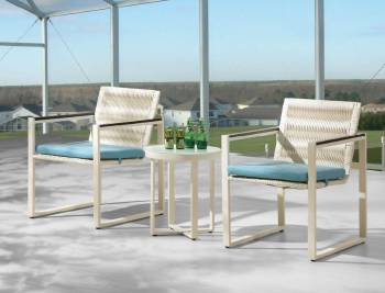 Package Deals - Outdoor Sofa & Seating Sets - Wisteria Chair Set For Two
