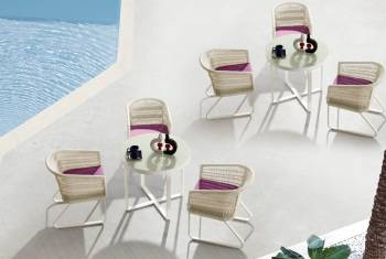 Outdoor Furniture Sets - Outdoor  Dining Sets - Haiti Dining Set For 3