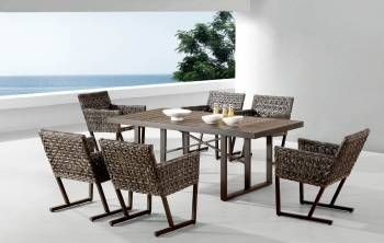 Outdoor  Dining Sets - Outdoor Dining Sets For 6 - Cali Dining Set For Six