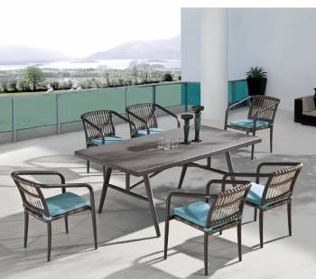 Outdoor  Dining Sets - Outdoor Dining Sets For 6 - Kitaibela Dining Set For 6