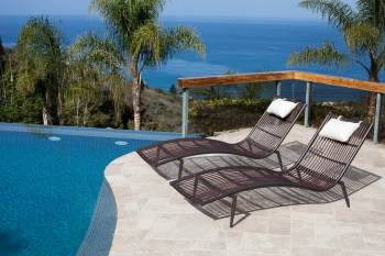 Outdoor Furniture Sets - Outdoor Chaise Lounges - Kitaibela Chaise Lounge